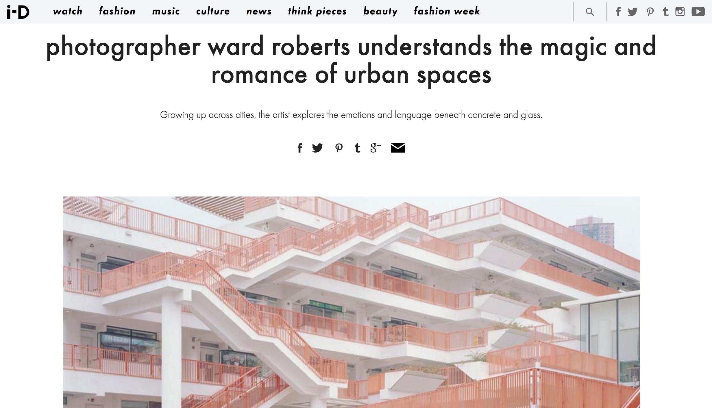 2. i-D : Ward Roberts