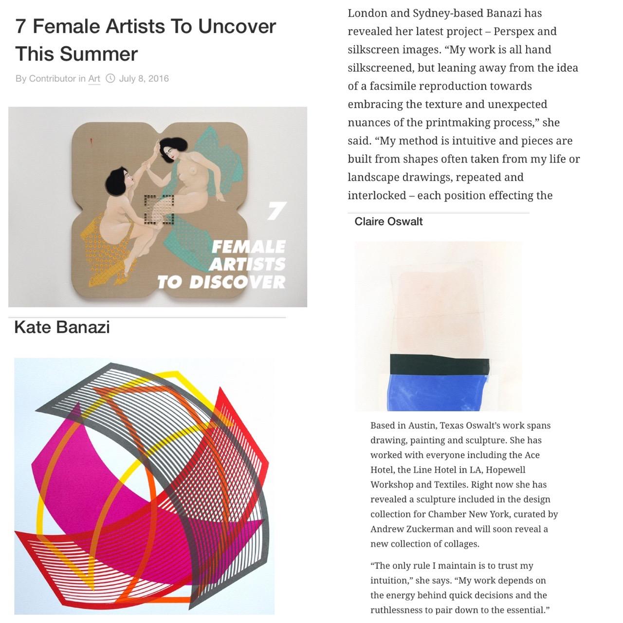 High Snobiety - Kate Banazi, Claire Oswalt