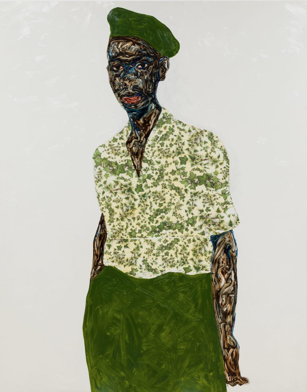 amoako-boafo-green-beret-mariane-ibrahim-gallery